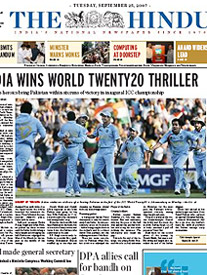 India World Twenty20 Champions