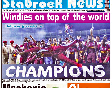 West Indies World Twenty20 Champions 2012